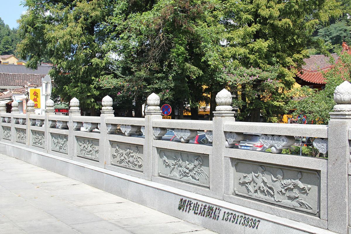 园林石护栏加工厂解说石栏杆雕刻建造步骤